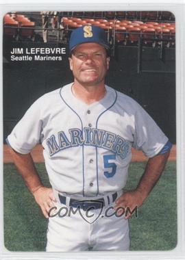 1989 Mother's Cookies Seattle Mariners - Stadium Giveaway [Base] #1 - Jim Lewis