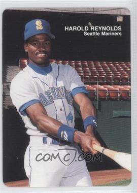 1989 Mother's Cookies Seattle Mariners - Stadium Giveaway [Base] #10 - Harold Reynolds
