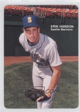 1989 Mother's Cookies Seattle Mariners - Stadium Giveaway [Base] #16 - Erik Hanson