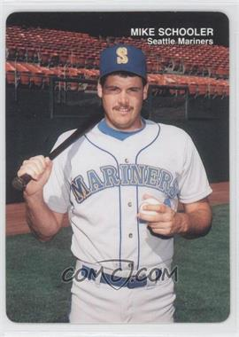 1989 Mother's Cookies Seattle Mariners - Stadium Giveaway [Base] #25 - Mike Schooler