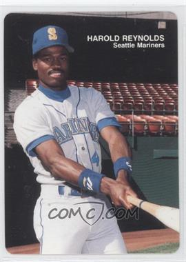 1989 Mother's Cookies Seattle Mariners Stadium Giveaway [Base] #10 - Harold Reynolds