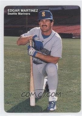 1989 Mother's Cookies Seattle Mariners Stadium Giveaway [Base] #11 - Edgar Martinez
