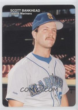 1989 Mother's Cookies Seattle Mariners Stadium Giveaway [Base] #13 - Scott Bankhead