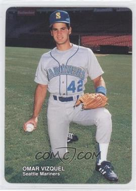 1989 Mother's Cookies Seattle Mariners Stadium Giveaway [Base] #15 - Omar Vizquel