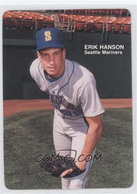 1989 Mother's Cookies Seattle Mariners Stadium Giveaway [Base] #16 - Erik Hanson