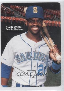 1989 Mother's Cookies Seattle Mariners Stadium Giveaway [Base] #2 - Alvin Davis
