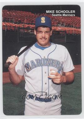 1989 Mother's Cookies Seattle Mariners Stadium Giveaway [Base] #25 - Mike Schooler