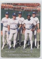 Mike Parrott, Bill Plummer, Rusty Kuntz, Bo Diaz