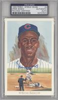 Ernie Banks /10000 [PSA/DNA Certified Auto]