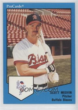 1989 ProCards Minor League - [Base] #1680 - Scott Medvin
