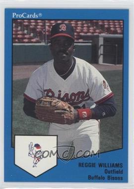 1989 ProCards Minor League - [Base] #1685 - Reggie Williams