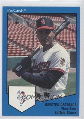 1989 ProCards Minor League - [Base] #1687 - Orestes Destrade