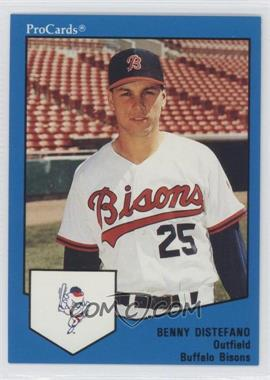 1989 ProCards Minor League #1682 - Benny Distefano
