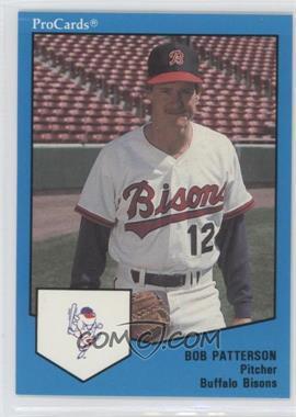 1989 ProCards Minor League #1684 - Bob Patterson