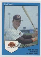 Rob Nelson (Stats through 1988)