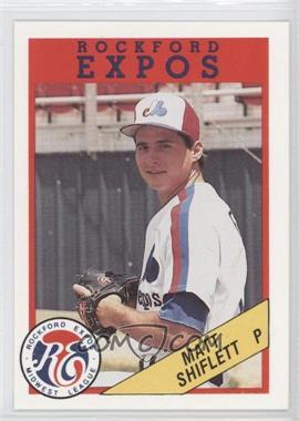 1989 Rockford Litho Center Rockford Expos #13 - Matt Shiflett