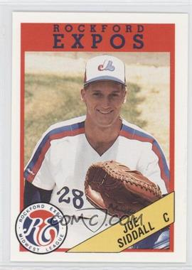 1989 Rockford Litho Center Rockford Expos #28 - Joe Siwa