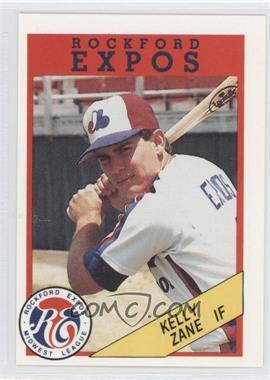 1989 Rockford Litho Center Rockford Expos #9 - [Missing]