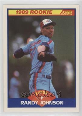 1989 Score - [Base] #645 - Randy Johnson