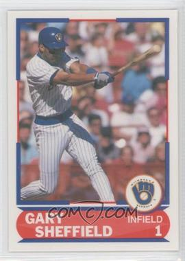 1989 Score Young Superstars I #25 - Gary Sheffield