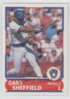 1989 Score Young Superstars #25 - Gary Sheffield