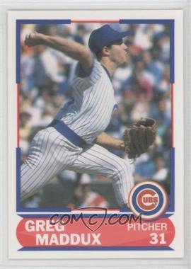 1989 Score Young Superstars #39 - Greg Maddux