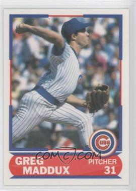 1989 Score Young Superstars #39 - Greg Maddux