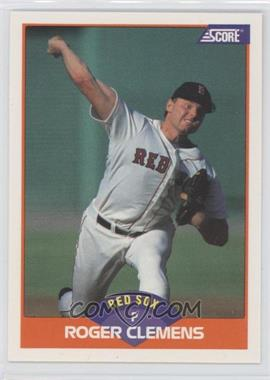 1989 Score #350.2 - Roger Clemens (Error: 778 Career Wins on Back)