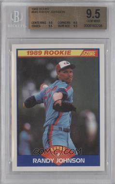 1989 Score #645 - Randy Johnson [BGS 9.5]