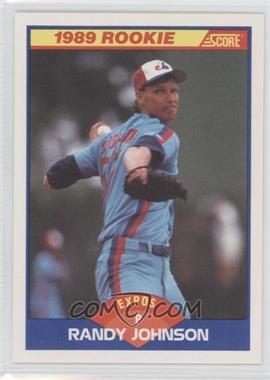 1989 Score #645 - Randy Johnson
