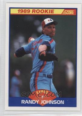 1989 Score #645 - Randy Johnson