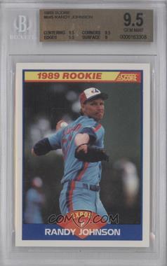 1989 Score #645 - Randy Johnson [BGS9.5]