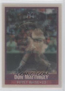 1989 Sportflics - [Base] #50 - Don Mattingly