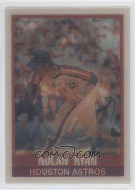 1989 Sportflics #115 - Nolan Ryan