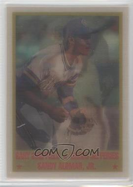 1989 Sportflics #223 - Gary Sheffield, Gregg Jefferies, Sandy Alomar