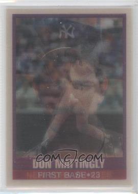 1989 Sportflics #50 - Don Mattingly