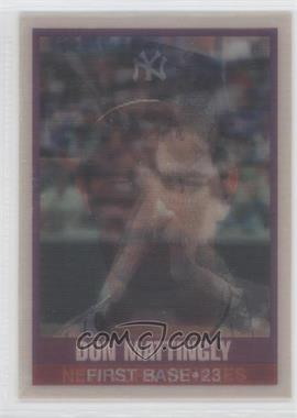 1989 Sportflics #50 - Don Mattingly