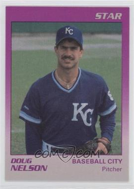 1989 Star Baseball City Royals #19 - Doug Nelson