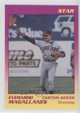 1989 Star Canton-Akron Indians - [Base] #13 - Ever Magallanes