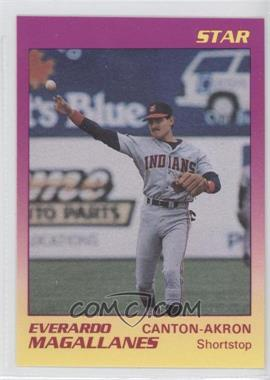 1989 Star Canton-Akron Indians #13 - Ever Magallanes