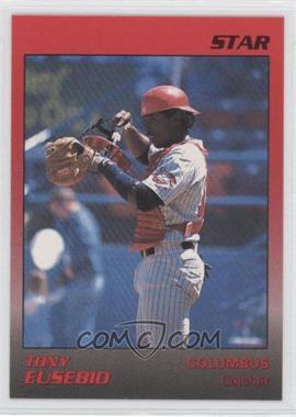 1989 Star Columbus Mudcats #8 - Tony Eusebio