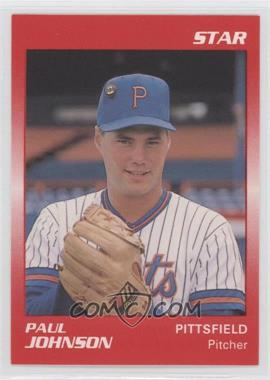 1989 Star Minor League - [Base] #160 - Paul Johnson