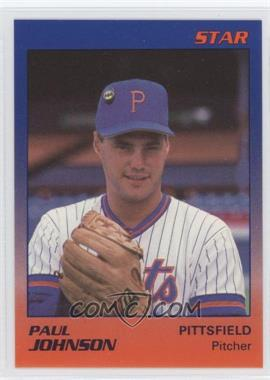 1989 Star Pittsfield Mets - [Base] #12 - Paul Johnson