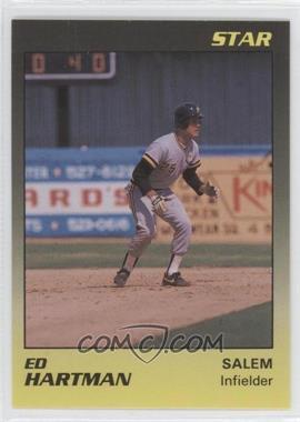 1989 Star Salem Buccaneers - [???] #10 - Ed Hartman