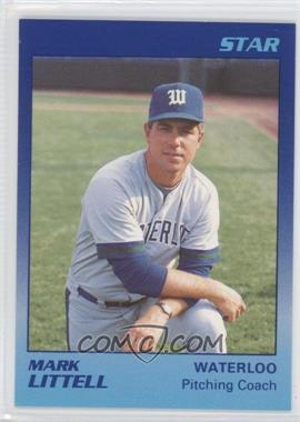 1989 Star Waterloo Diamonds #27 - Mark Littell