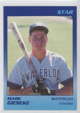 1989 Star Waterloo Diamonds #29 - Mark Gieseke
