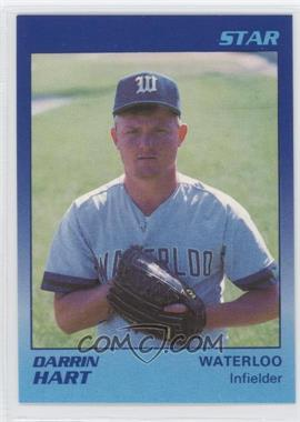 1989 Star Waterloo Diamonds #30 - Darrin Hart