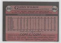 Glenn Wilson