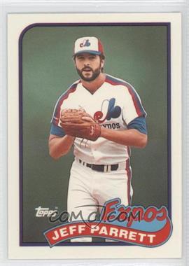 1989 Topps - [Base] - Box Set Collector's Edition (Tiffany) #176 - Jeff Parrett