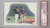 Atlanta Braves Team [PSA8.5]